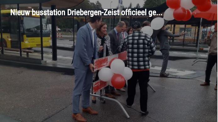 feestelijke openen busstation