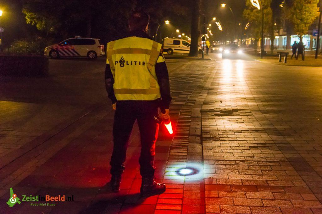 OOZ verlichtingscontrole fiets politie 171103 M1B0899 Zeist Mel Boas